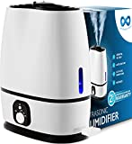 Everlasting Comfort Cool Mist Humidifier for Bedroom with Essential...