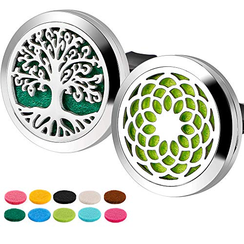 Car Diffuser Essential Oils Stainless Steel Locket