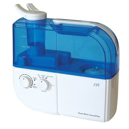 SPT SU-4010 Ultrasonic Dual-Mist Humidifier with Ion Exchange Filter