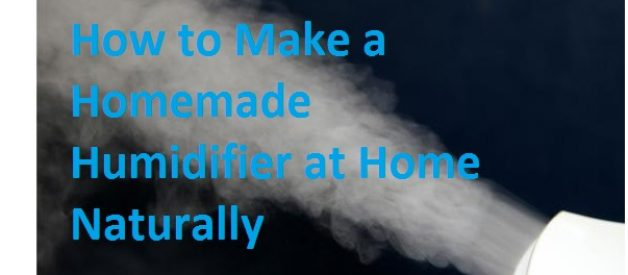 How to Make a Homemade Humidifier at Home Naturally