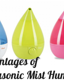 Advantages of Ultrasonic Mist Humidifiers